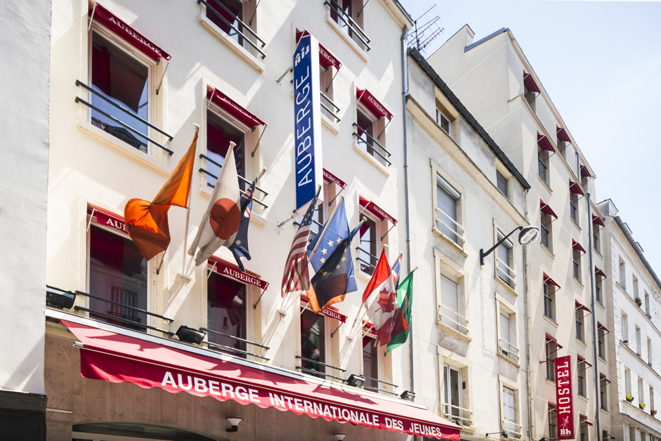 Auberge internationale des Jeunes, Youth Hostel Paris