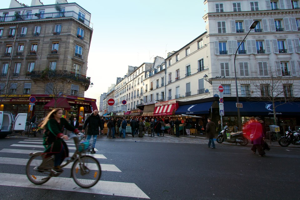 Quartier Bastille, Paris