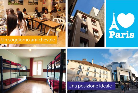 AIJ, cheap, youth hostel, Paris