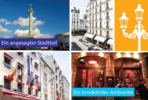 Stadtviertel Bastille !